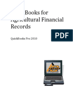 QuickBooks for Agricultural Financial Records