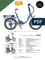 Ficha Bicicleta PLIMOA 16