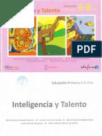 Inteligencia y Talento 6-8 Años