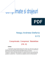 Comprimate si drajeuri FR X