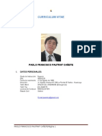 Paolo Pautrat CV LAST