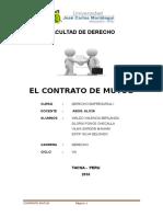 El Contrato de Mutuo Hoyy