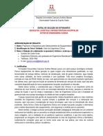 2016 - Edital Chamada Estudante - Engenharia Clınica
