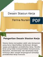 Desain Stasiun Kerja
