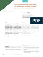 controle biomecânico da mola T pré-ativada