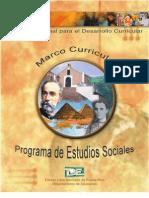 Estudios Sociales Marco Curricular