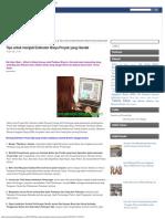 Tips Untuk Menjadi Estimator Biaya Proyek Yang Handal Proyek Sipil