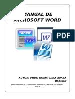 Manual de Ms Word