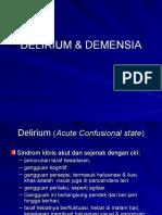 Delirium & Demensia2014