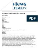 Reviews in History - A Woman in History Eileen Power 1889-1940 - 2012-03-08