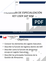 Programa de Especialización Key User Sap Wm