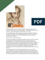 Analisis de La Carta de Jamaica