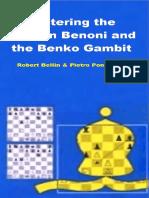 Mastering the Modern Benoni and the Benko Gambit