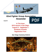 82nd FGA Newsletter June 2016