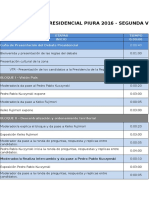 Pauta Televisiva Debate Presidential - Segunda Vuelta Piura 2016 (2)