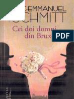 Eric Emmanuel Schmitt - Cei Doi Domni Din Bruxelles