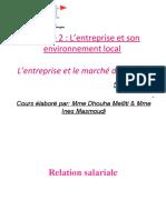 (708229810) l'Entreprise Et Le Marche Du Travail( Séance 5)