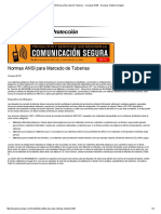 Normas ANSI Para Marcado de Tuberías - Consejos # 203 - Grainger Industrial Supply