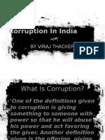 Corruption At Peak