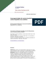 SISTEMATIZAÇAO DA VACINAÇAO CONTRA HEPATITE B