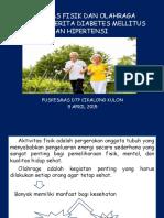 Aktivitas Fisik Dan Olahraga Untuk Penderita Diabetes Mellitus