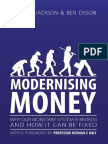 Modernizing Money - Positive Money PDF From Epub