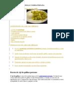 Receta Cau Cau Criollo Comida Peruana