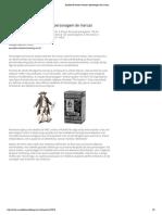 Análise de ícones visuais e personagem de marcas