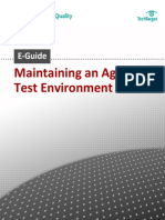 Maintaining an Agile Test Environment