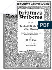 W. J. Owst. Christmas Anthemns