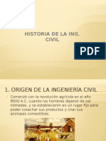 Historia de la Ingeniería Civil