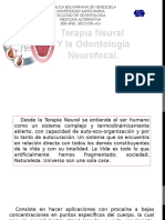 La Terapia Neural y La Odontología Neurofocal Medicina Alternativa