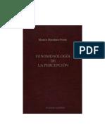 Fenomenología de la percepcion (Merleau-Ponty).pdf