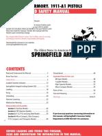 Springfield 1911 Manual