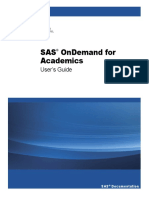 SAS on Demand