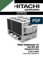 Chiller Hitachi IHCT2-RCUAR020 Rev01 Jul2008 DAS