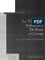 Coffa Alberto J - La Tradicion Semantica - De Kant a Carnap - Vols I Y II