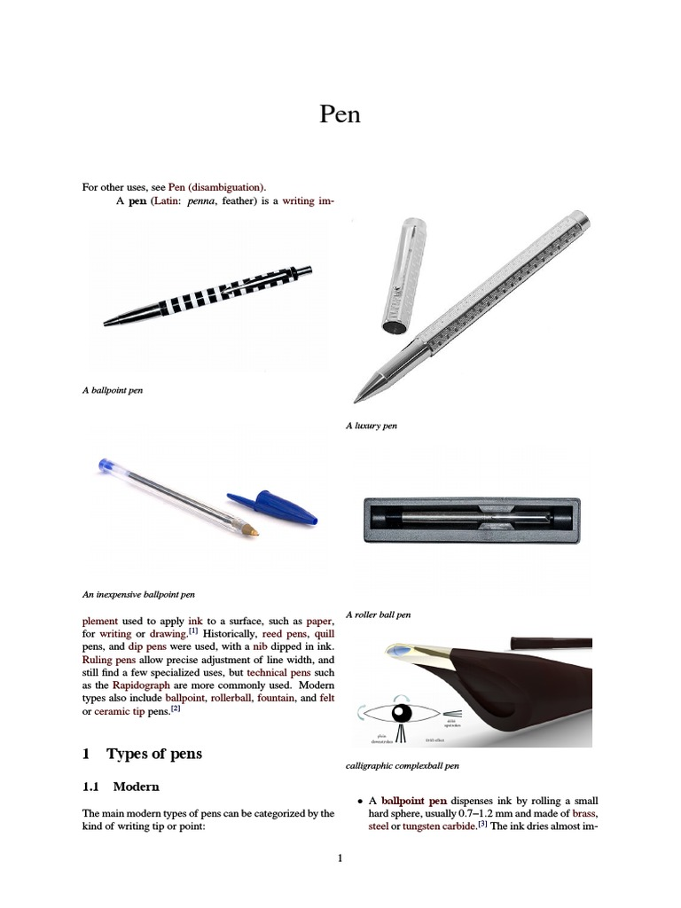 Diagram Of A Rollerball Pen Trusted Wiring Ballpoint The Tools Waterman