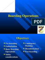 Boarding Operations