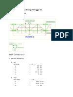 Perhitungan Sambungan Bracing 3