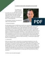 Geoffrey G. Jones- Análisis de El Comercio