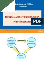 programación presupuestaria