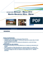 Informe Mensual Marzo MMM 2014