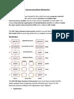 Osi Data Model