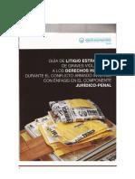 Guía de Litigio Estratégico de Graves Violaciones Derechos Humanos Guatemala 2012