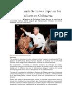 2016-05-20 Se Compromete Serrano a Impulsar Los Valores Familiares en Chihuahua