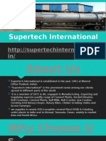 Supertech International Co. Manufacturer of Cement Plant