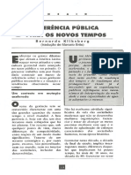 Gerência Pública, Bernardo Klinksman
