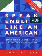 Amy Gillett - Speak English Like an American