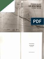 Lo Arácnido y Otros Textos, Ferdnand Deligny